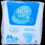 Adult Diapers Maxi Care 10S Medium