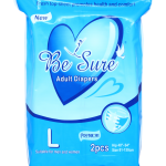 Adult Diapers Be Sure 2S Large